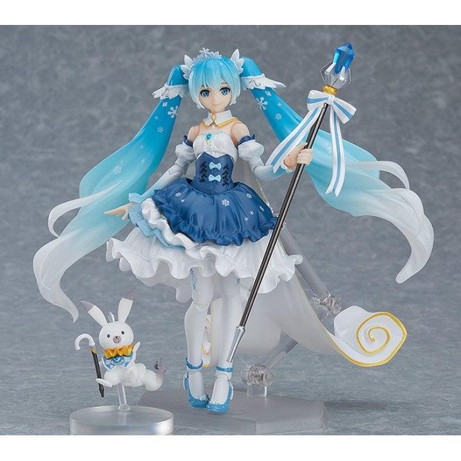 Character Vocal Series 01 Hatsune Miku figma Snow Miku Snow Princess ver.