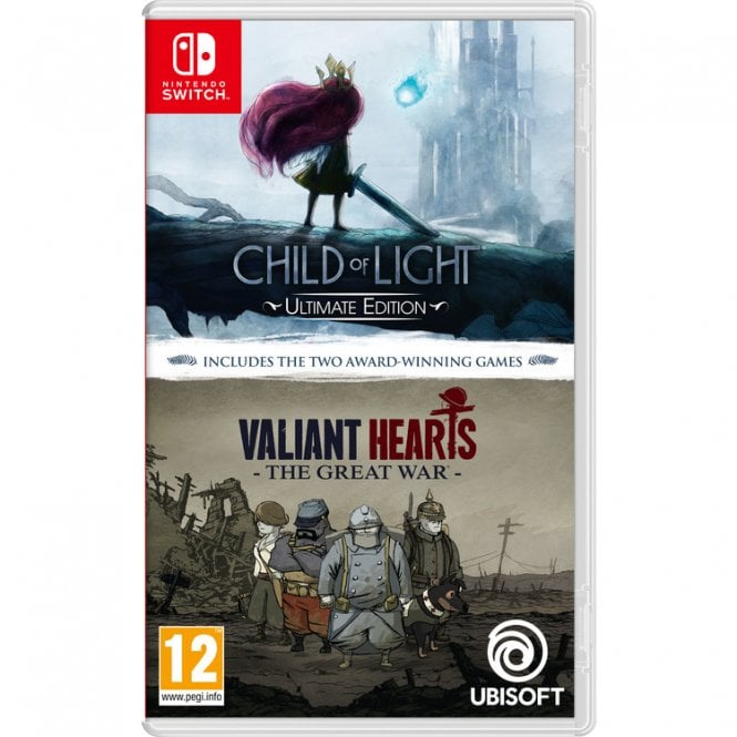 Child Of Light & Valiant Hearts Switch