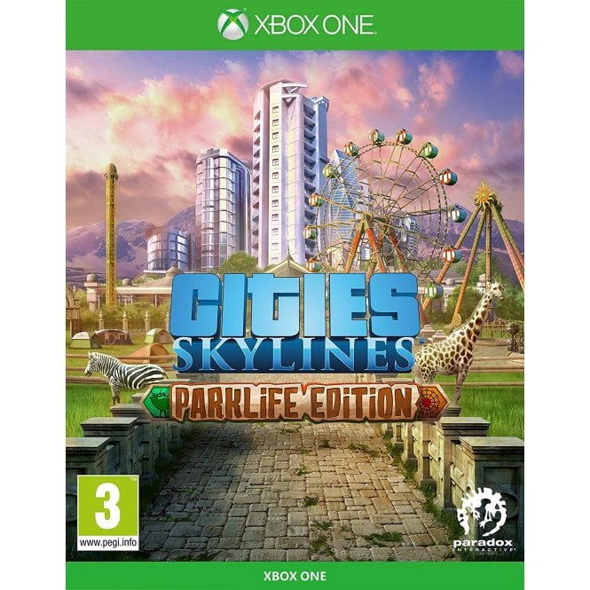 Cities Skylines Parklife Edition Xbox One