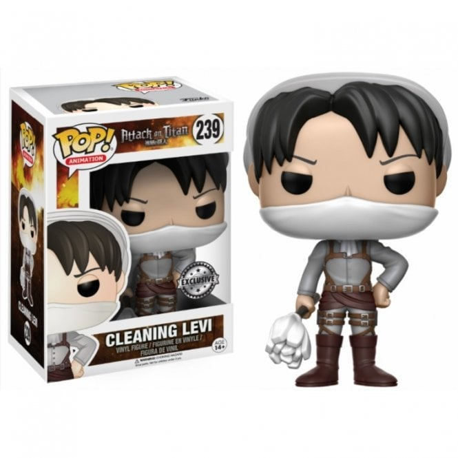Cleaning Levi Exclusive POP! Vinyl