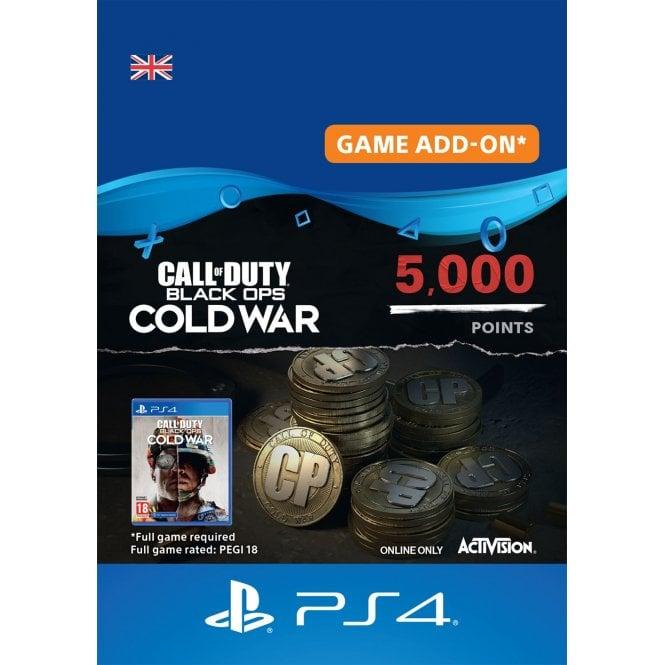 COD Black Ops Cold War 5000 Points