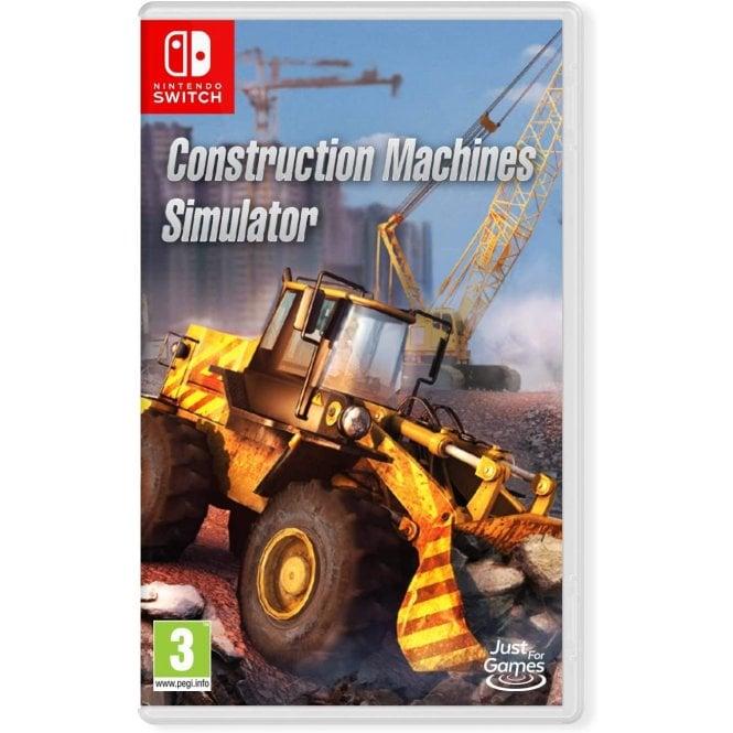 Construction Machine Simulator Switch