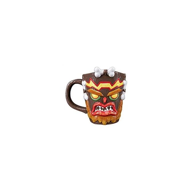 Crash Bandicoot Uka Uka 3D Mug