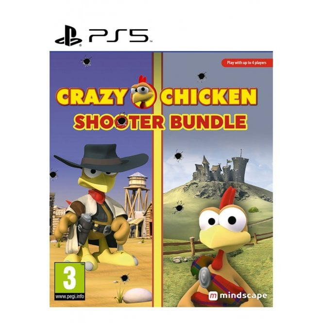 Crazy Chicken Shooter Edition PS5