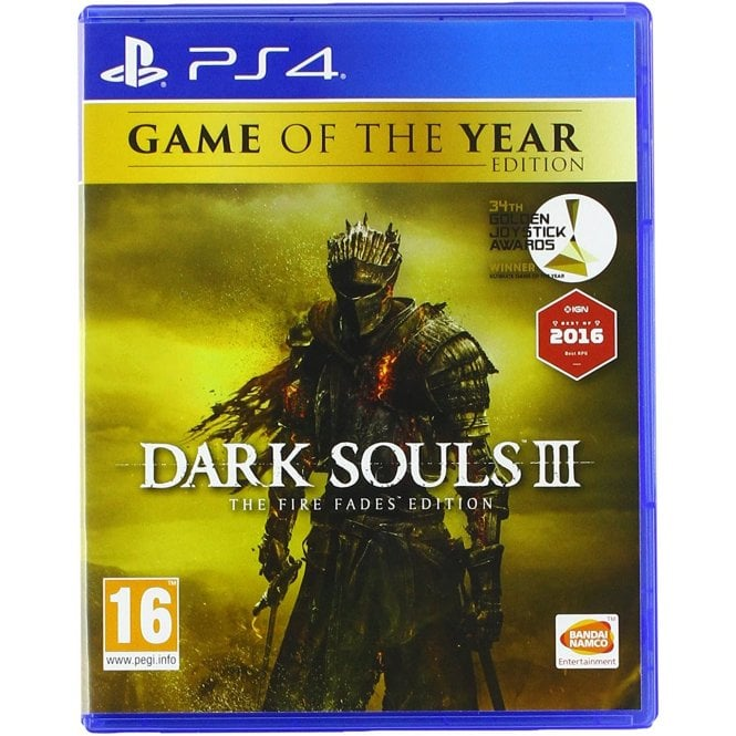 Dark Souls III Fire Fades Game of the Year Edition PS4