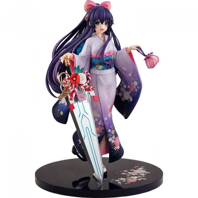 Date A Live Light Novel Tohka Yatogami 1 7 Scale Figure Finest Kimono Ver.