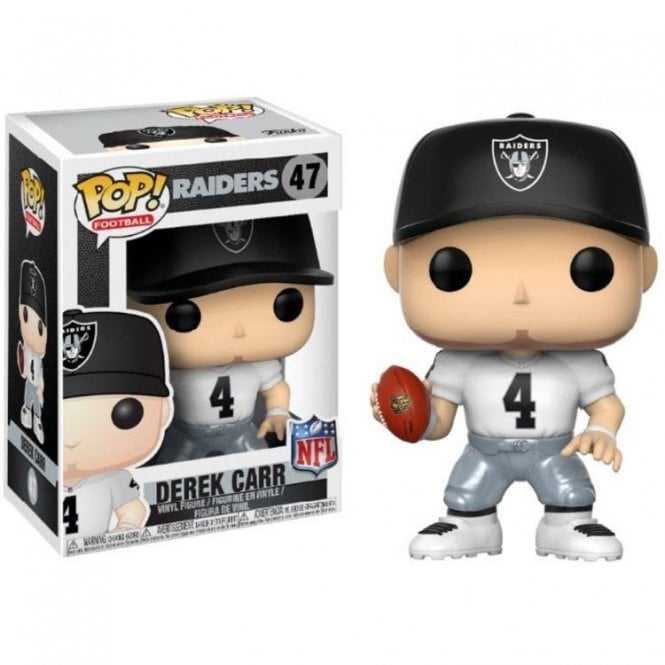 Derek Carr Oakland Raiders Away POP! Vinyl