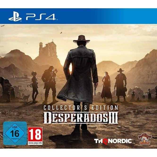 Desperados 3 Collector's Edition PS4