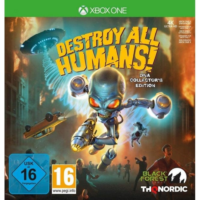 Destroy All Humans! DNA Collector's Edition Xbox