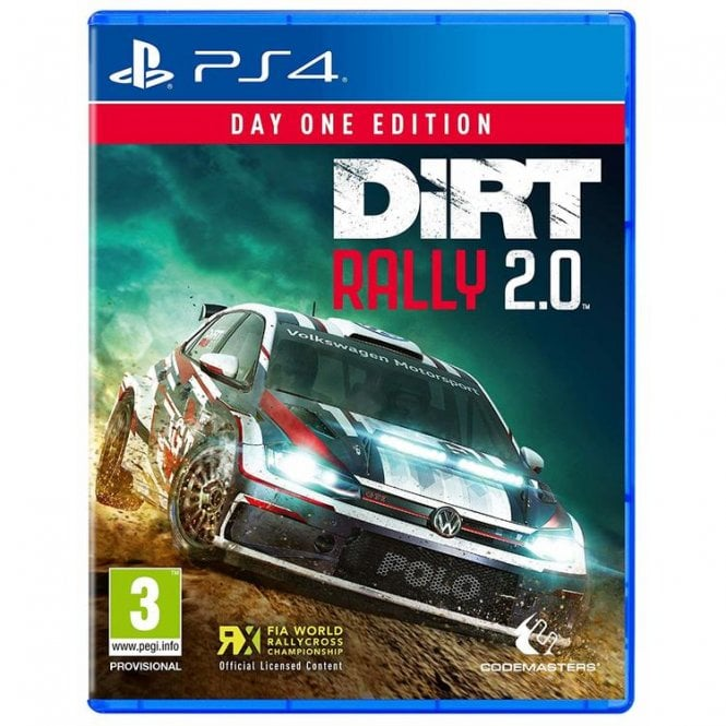 Dirt Rally 2.0 Day 1 Edition PS4