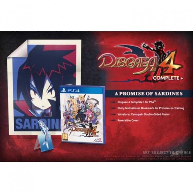 Disgaea 4 Complete+ - A Promise of Sardines Edition PS4