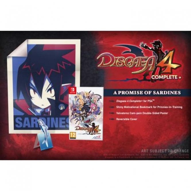 Disgaea 4 Complete+ - A Promise of Sardines Edition Switch