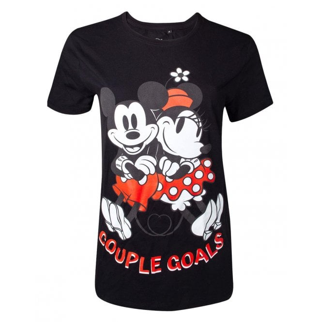 Disney Mickey Mouse Couple Goals Unisex T-shirt