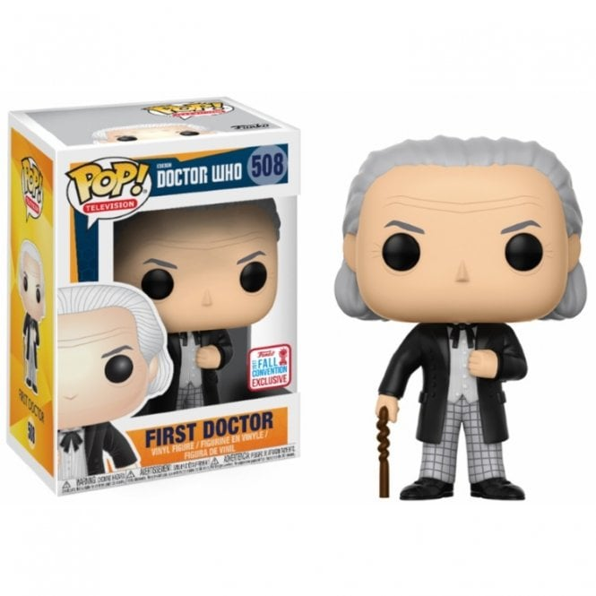 Doctor Who: 1st Doctor Exclusive POP! Vinyl