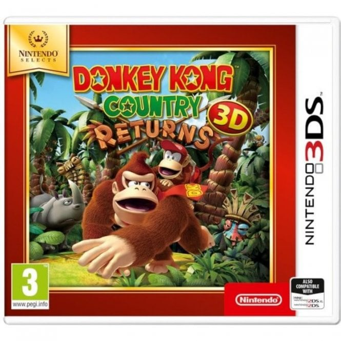 Donkey Kong Country Returns Nintendo Selects 3DS