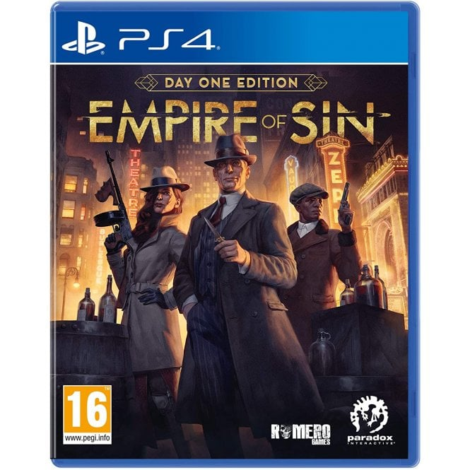 Empire of Sin Day One Edition PS4