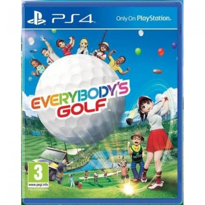 Everybody`s Golf PS4