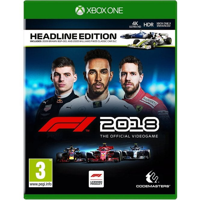 F1 2018 Headline Edition Xbox