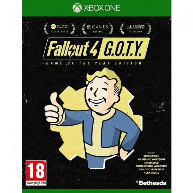 Fallout 4 Game of the Year Edition Xbox