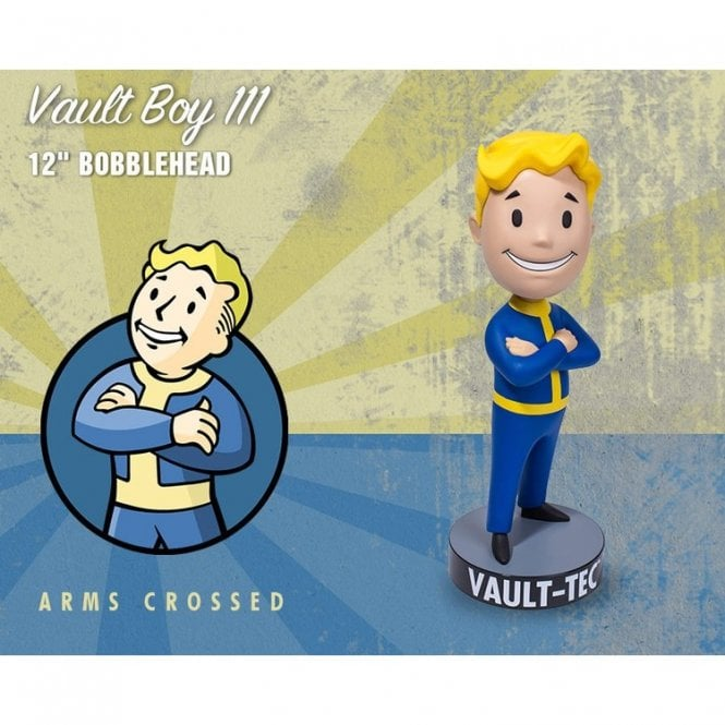 Fallout 4 Vault 111 VaultBoy Arms Crossed 12'