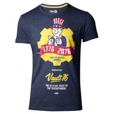 6a62d30ed2cc5e Fallout® 76 Vault 76 Poster Men's T-shirt