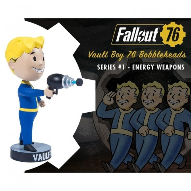 Fallout 76 Vault Boy Bobblehead Series 1 Energy Weapons