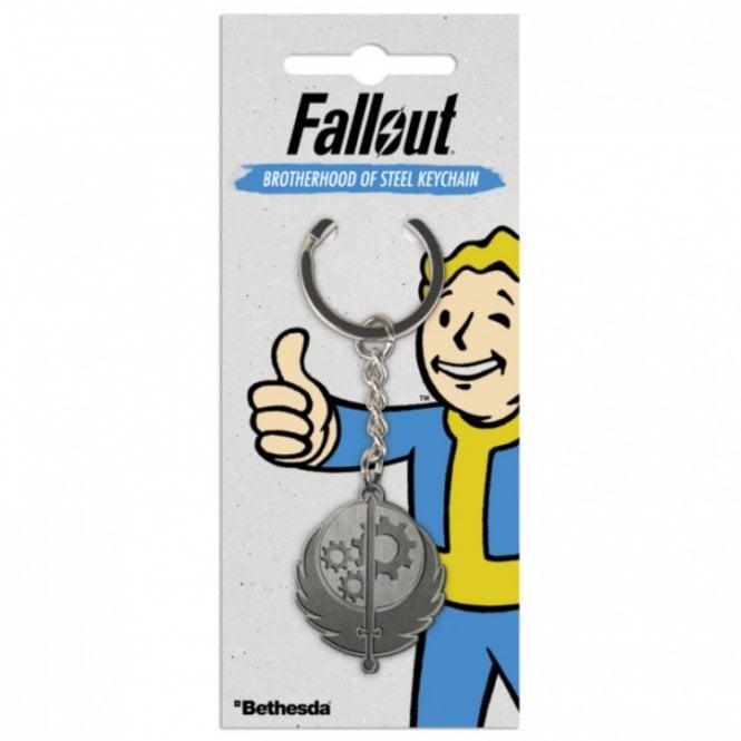 Fallout Brotherhood Of Steel Keyring