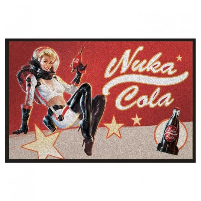 Fallout Nuka Cola Pin-Up Doormat