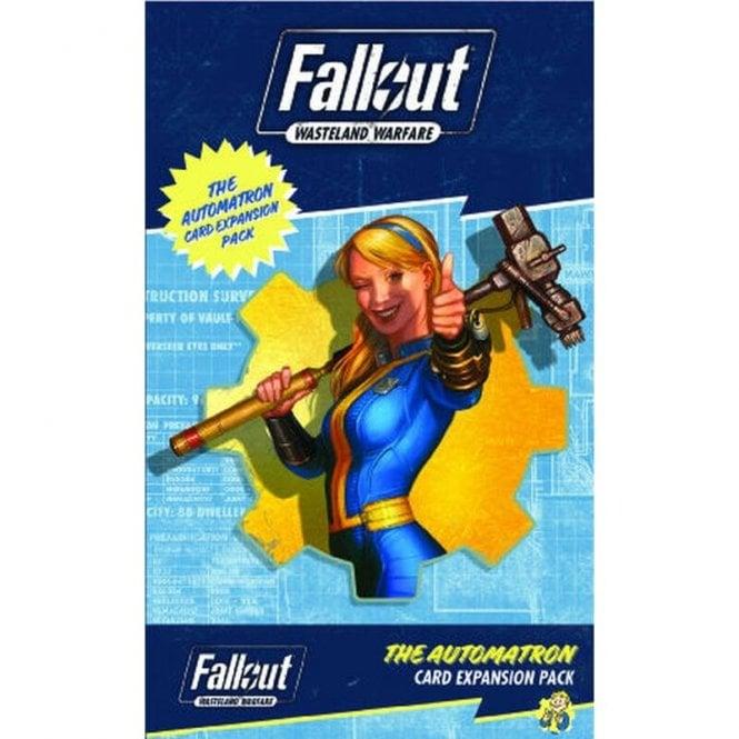 Fallout Wasteland Warfare Automatron Card Pack