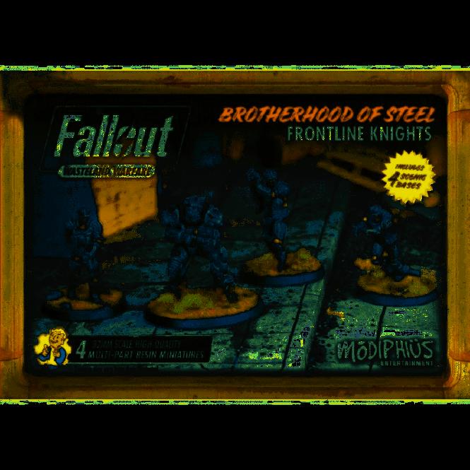 Fallout Wasteland Warfare Brotherhood of Steel Frontline Knights