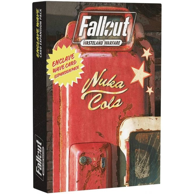 Fallout Wasteland Warfare Enclave Card Pack