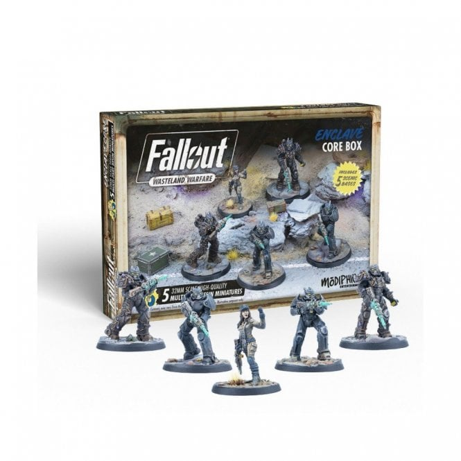 Fallout Wasteland Warfare Enclave Core Box