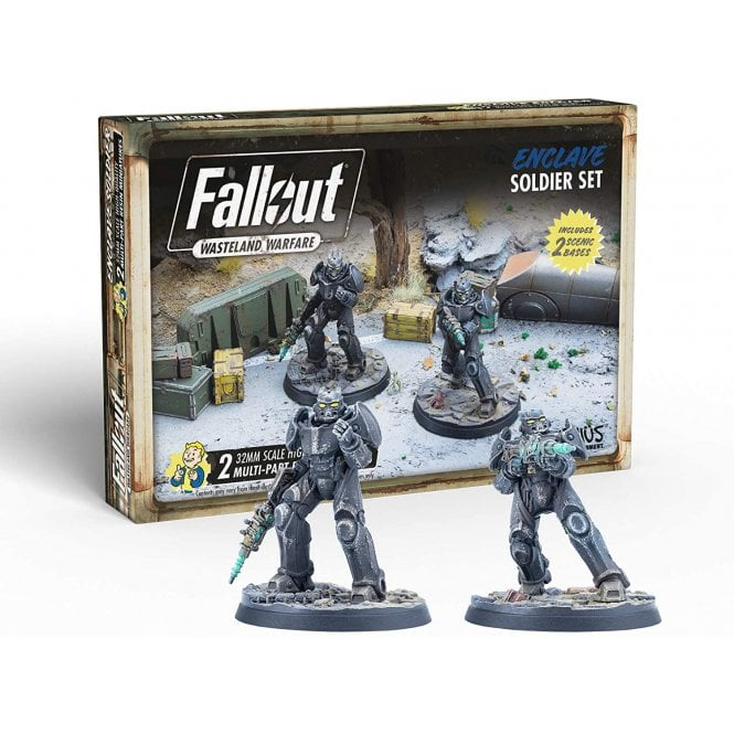 Fallout Wasteland Warfare Enclave Soldiers
