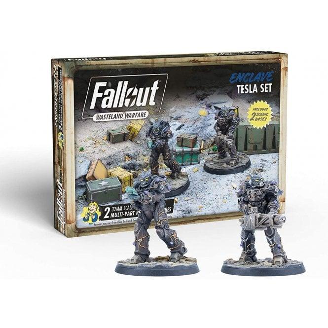 Fallout Wasteland Warfare Enclave Tesla Set