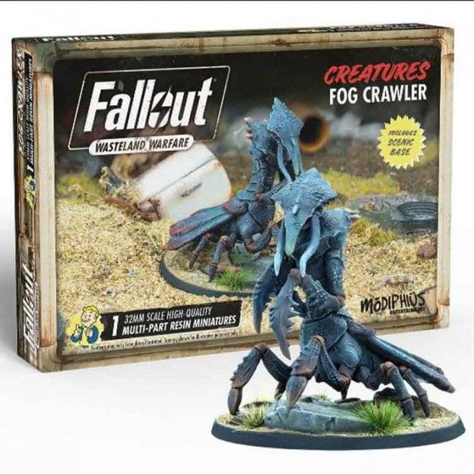 Fallout Wasteland Warfare Fog Crawler