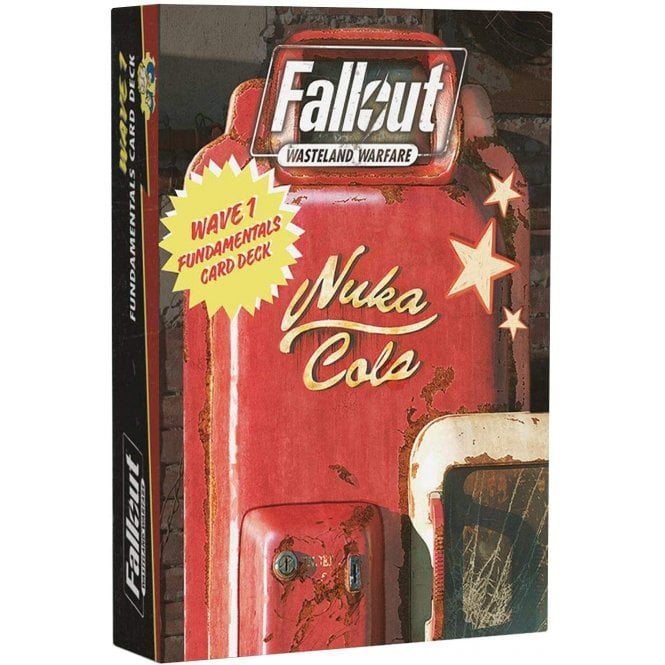 Fallout Wasteland Warfare Fundamentals Cards Wave 1