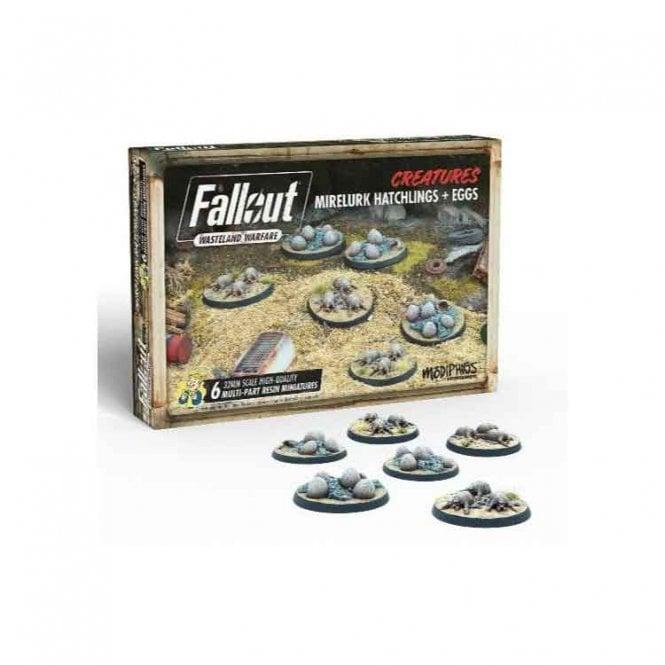 Fallout Wasteland Warfare Mirelurk Hatchlings & Eggs