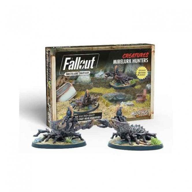 Fallout Wasteland Warfare Mirelurk Hunters