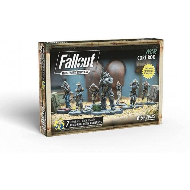 Fallout Wasteland Warfare NCR Core Box