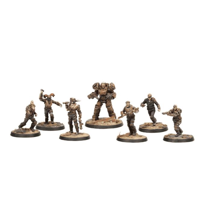 Fallout Wasteland Warfare Raiders Core