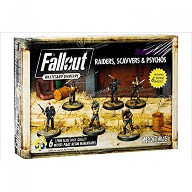 Fallout Wasteland Warfare Raiders, Scavvers & Psychos