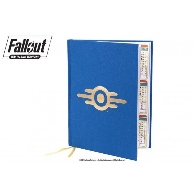 Fallout Wasteland Warfare Rulebook RPG Limited Edition