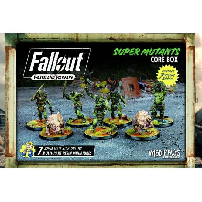 Fallout Wasteland Warfare Super Mutants Core Box