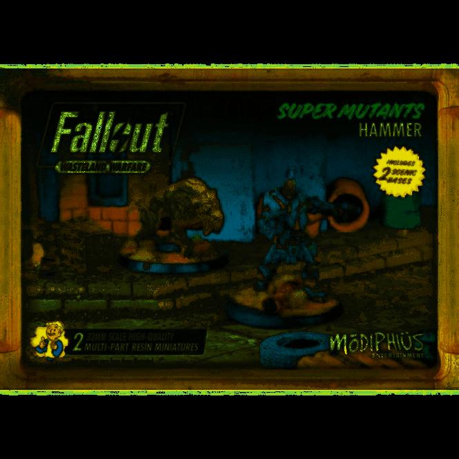 Fallout Wasteland Warfare Super Mutants Hammer