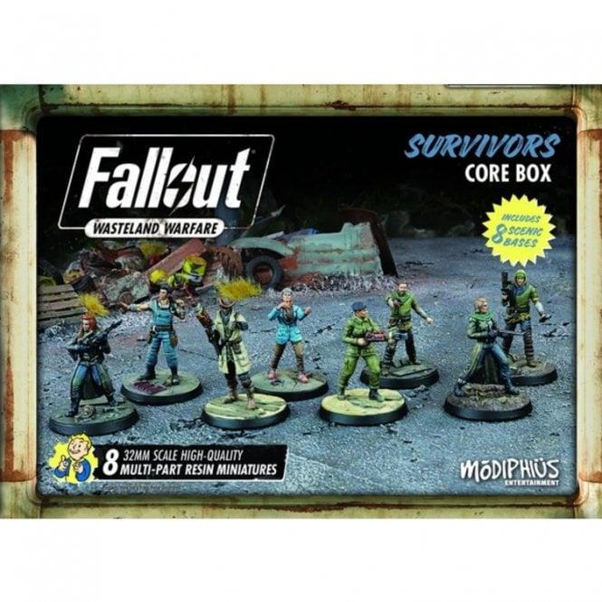 Fallout Wasteland Warfare Survivors Core