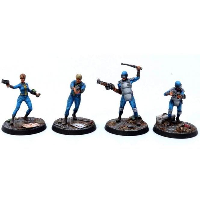 Fallout Wasteland Warfare Survivors Vault Personnel