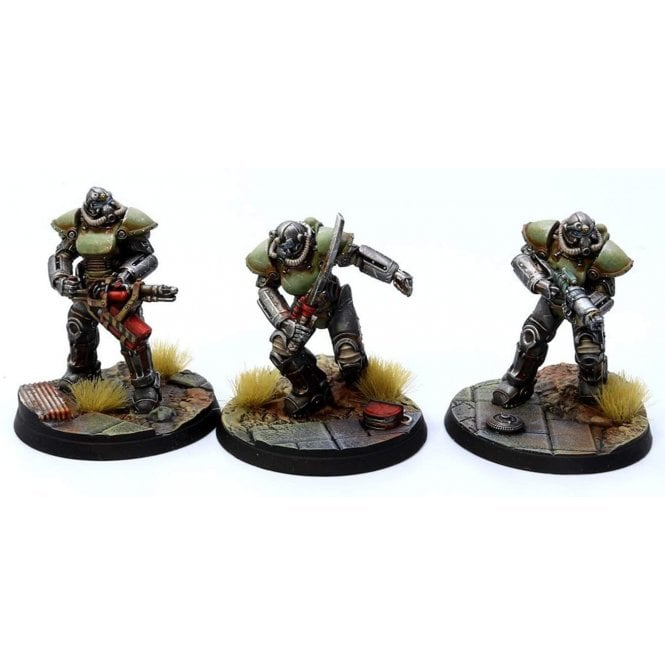 Fallout Wasteland Warfare T51 POWER ARMOUR