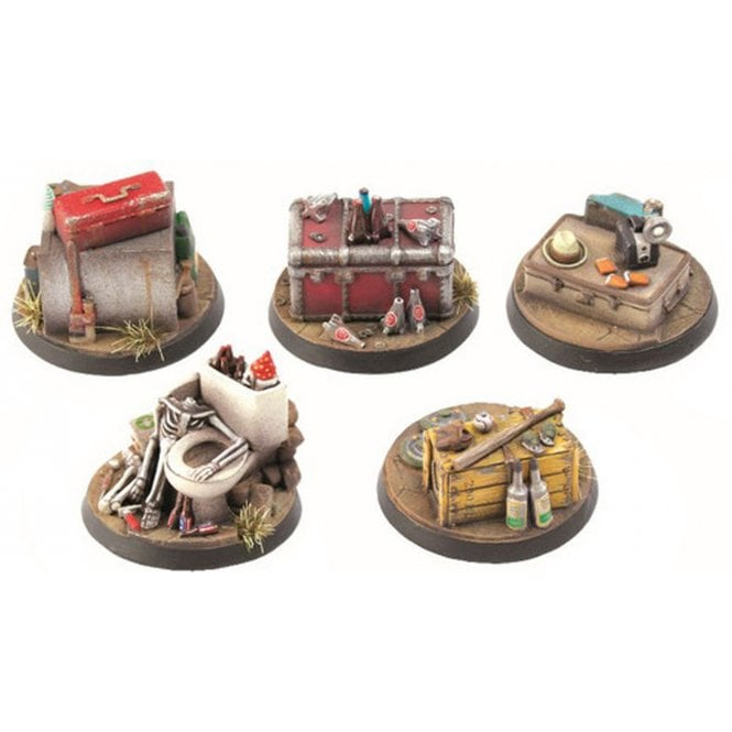 Fallout Wasteland Warfare Terrain Expansion Objective Markers 1