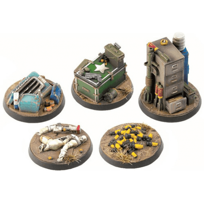 Fallout Wasteland Warfare Terrain Expansion Objective Markers 2