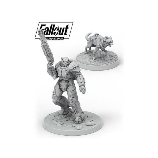 Fallout Wasteland Warfare X01 Survivor & Dogmeat